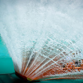 Splash Time by Abhinetri Pogul - Sports & Fitness Watersports ( water, water drops, watersports, happy, waterfall, sports, boat, people )