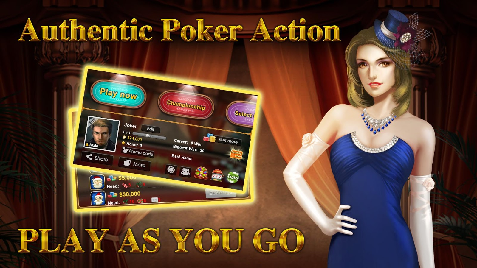 DH Texas Poker - Texas Hold'em Screenshot 3