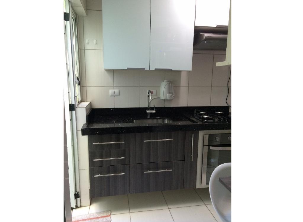 Apartamento de 46m² com 2 dorms com ótima localização em Santo André.
