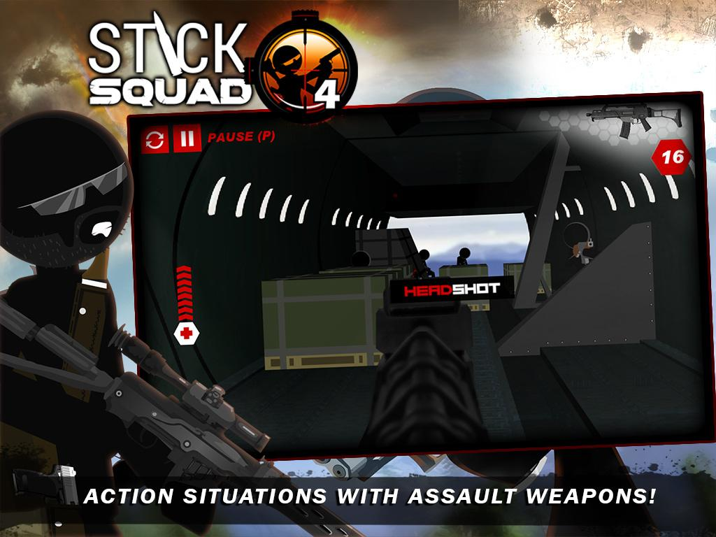 Stick Squad 4 - Sniper's Eye Screenshot 9