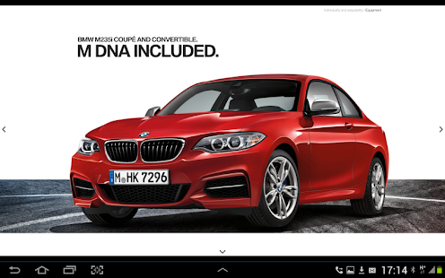BMW SA Brochures - screenshot