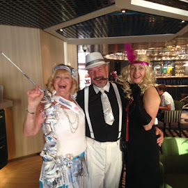 Roaring Twenties Gatsby Night by Dawn Simpson - People Group/Corporate ( cruising, roaring twenties, gatsby, gangsters, fun, molls. cigarette holder, dress ups )