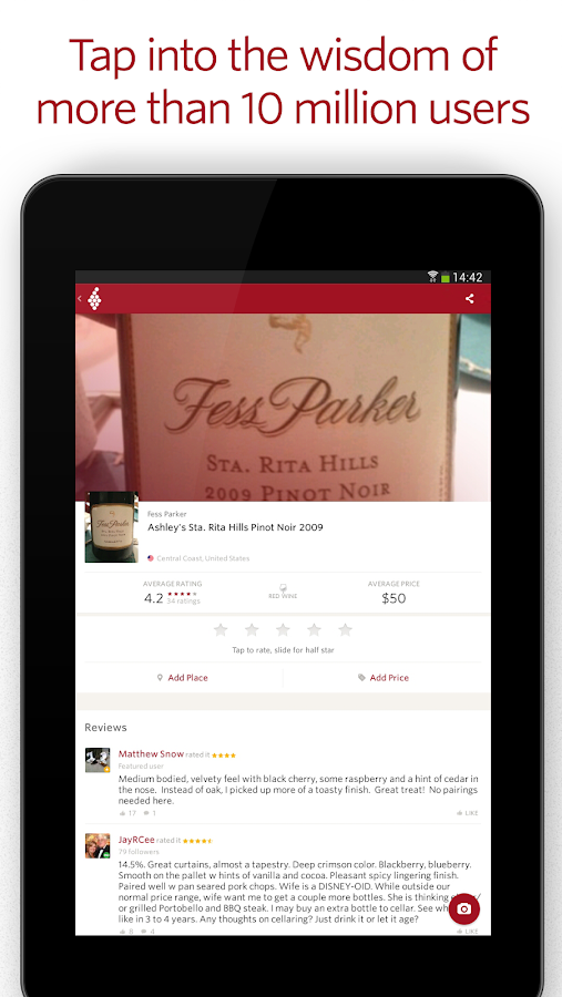 Vivino Wine Scanner Screenshot 9