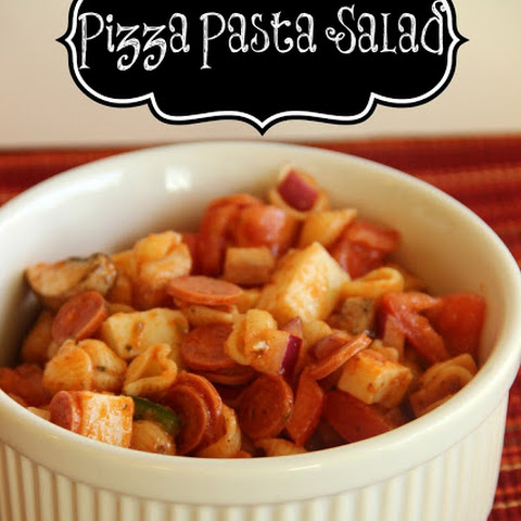 Make-Ahead Pizza Pasta Salad