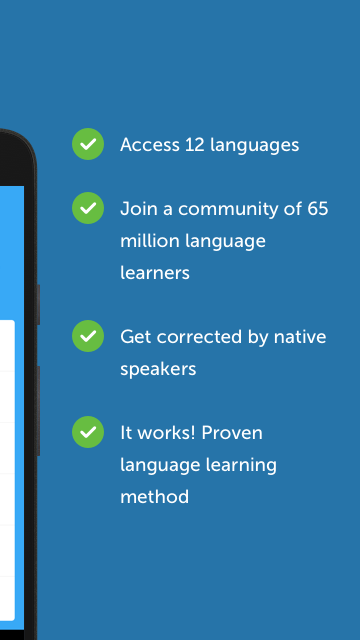 busuu - Easy Language Learning Screenshot 2