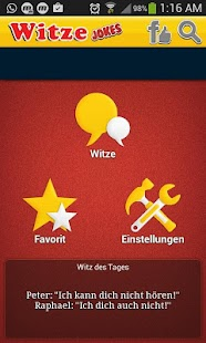 Witze- screenshot