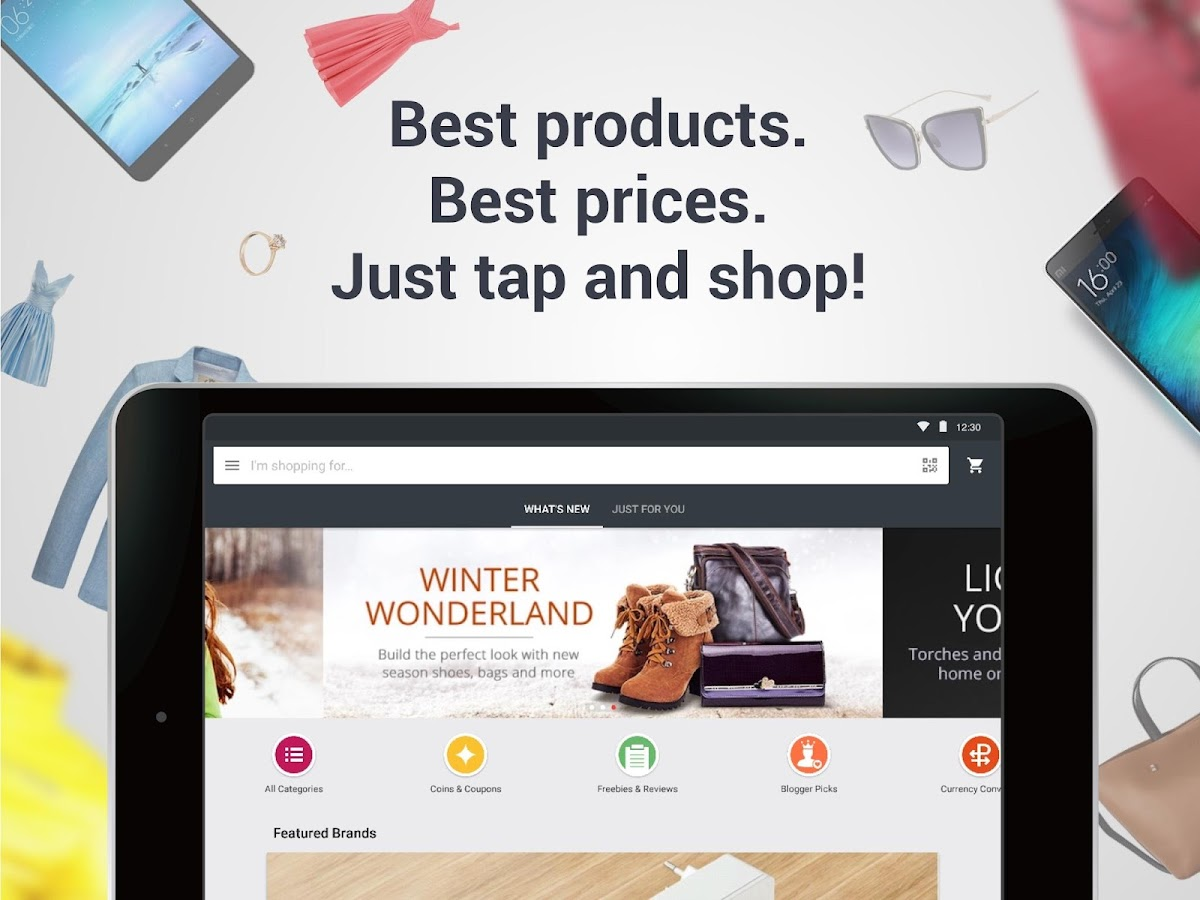 AliExpress Shopping App- $100 Coupons For New User – Screenshot