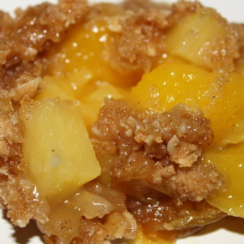 Mango Pineapple Crisp