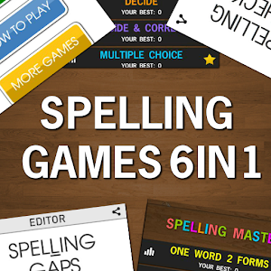 Spelling Games Bundle Pack 6in1 For PC / Windows 7/8/10 / Mac – Free Download