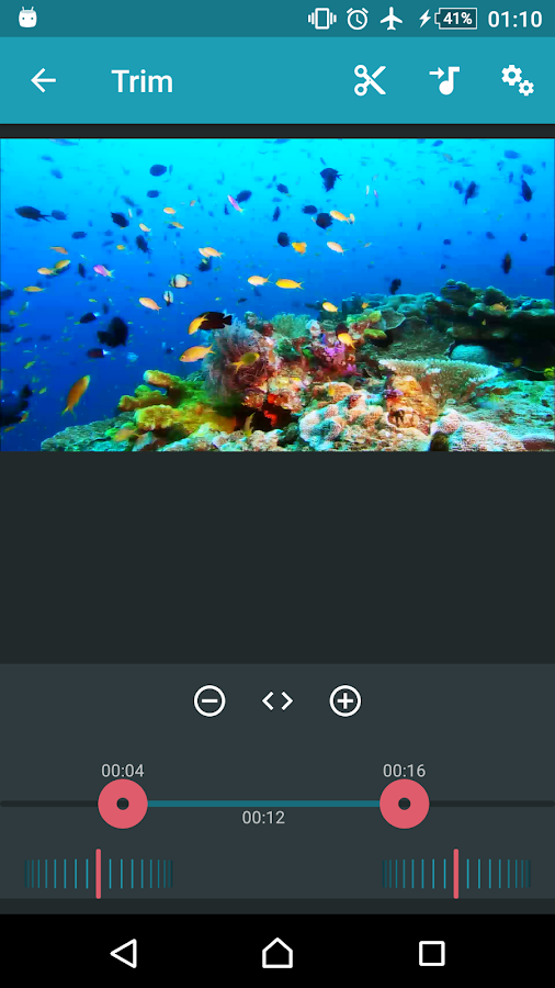 AndroVid Pro Video Editor Screenshot 1