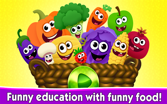 Funny Food Games For Toddlers! APK screenshot thumbnail 17