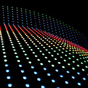 Led Lights by Kai Jian - Abstract Patterns