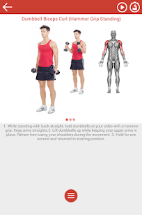 Fitness & Bodybuilding Fitness app screenshot for Android