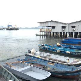 just boats by Mary Yeo - Transportation Boats