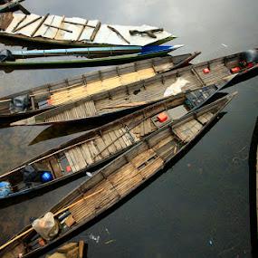 jukung by Rachmat Sandiko - Transportation Boats