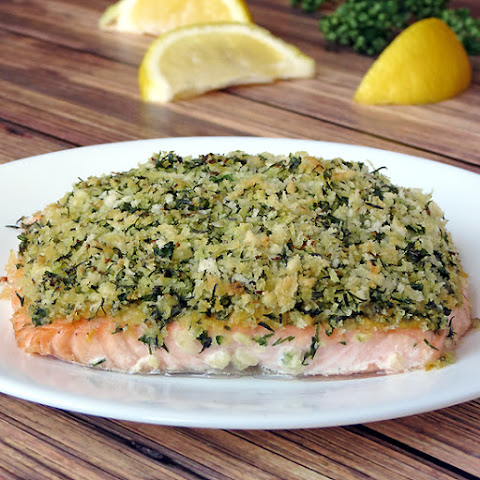 Herb Panko Crusted Salmon