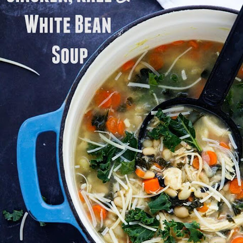 Chicken Kale and Bean Soup