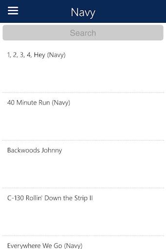 U.S. Military Cadences Audio - screenshot