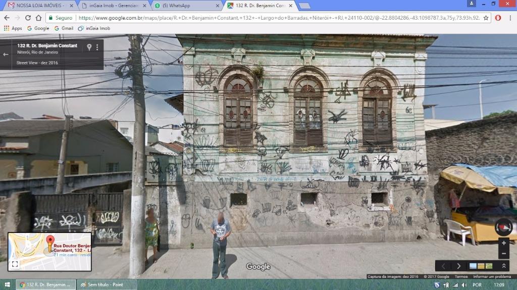 Casa comercial para locação, Largo do Barradas, Niterói.