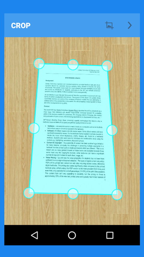 Doc Scanner :PDF Creator + OCR Screenshot 1