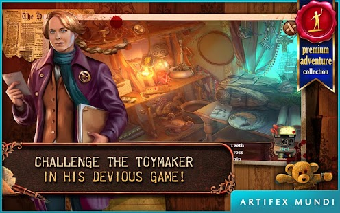 Deadly Puzzles: Toymaker (Full) for pc