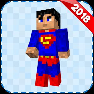 Superhero Skins for Minecraft PE 🎮 For PC (Windows & MAC)