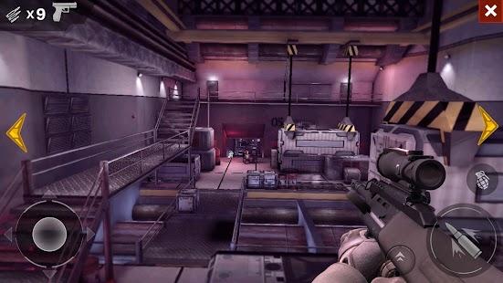 Black Battlefield Ops: Gunship Sniper Shooting