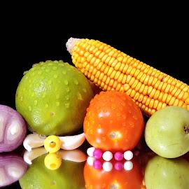 coloured treat by SANGEETA MENA  - Food & Drink Ingredients