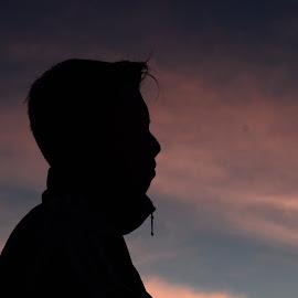 Silhouette by Mochammad Helmi - People Portraits of Men