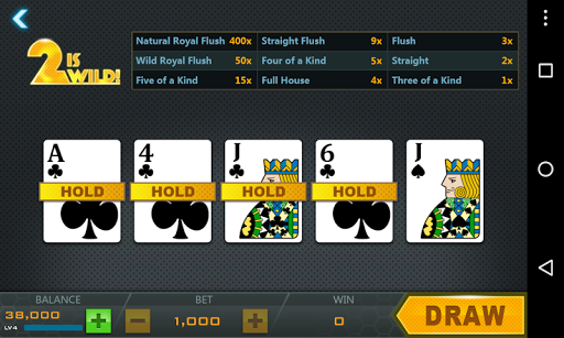 Deuces Wild - Video Poker - screenshot