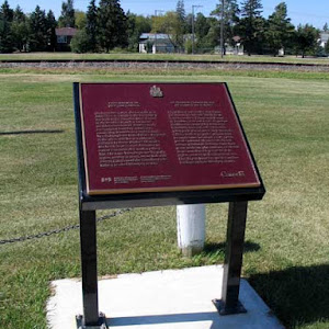 On December 3, 1878, the last spike was driven at this site in Dominion City (Rural Municipality of Franklin) to complete the first railway line built in the Canadian West. Known as the Pembina ...