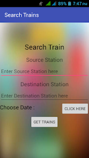 Train Railway india - screenshot