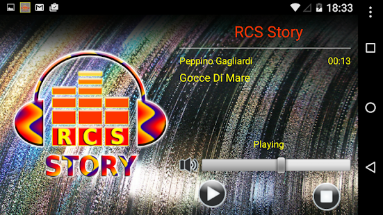 RCS Story - screenshot