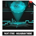 Hologram Theme