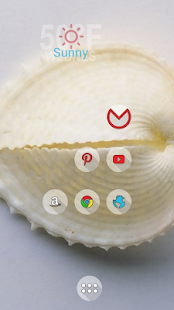 Three-dimensional white shell - screenshot