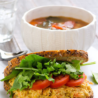 Clean Eating Sesame Chickpea and Carrot Spread