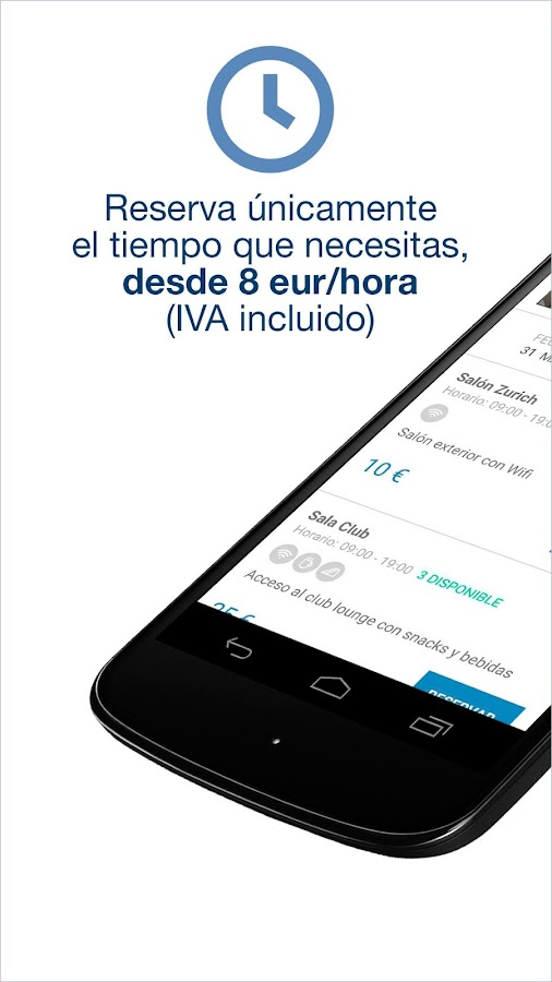 WORKTEL - Tu oficina por horas Screenshot 3