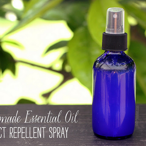 How-to Make Homemade Essential Oil Insect Repellent Spray