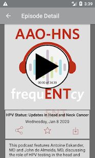 frequENTcy  - AAO–HNS for pc
