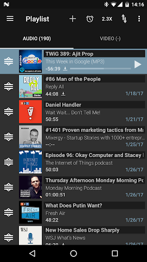 Podcast Addict - Donate screenshot 4