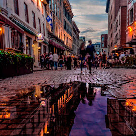 old Montreal by Gigi Kent - City,  Street & Park  Historic Districts