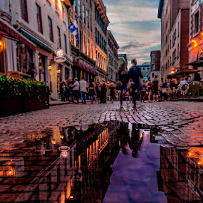 old Montreal by Gigi Kent - City,  Street & Park  Historic Districts (  )