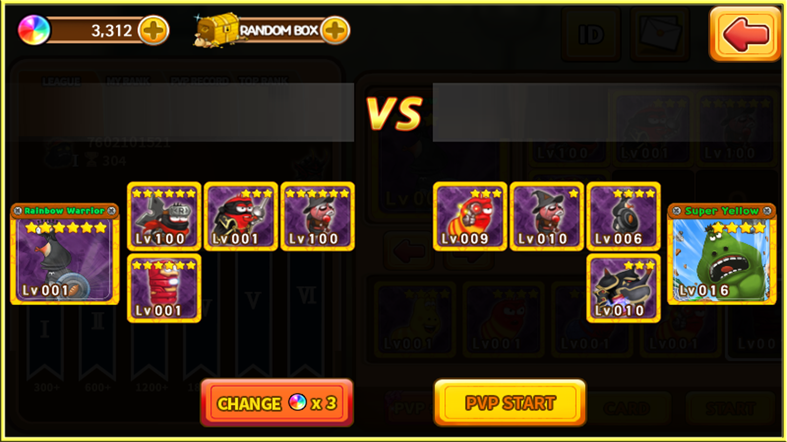 Larva Heroes : PVP Online Screenshot 2