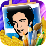 Actors Coloring Page APK Image