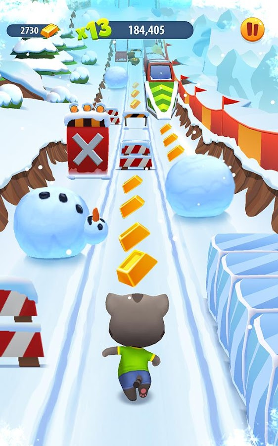 Talking Tom Gold Run Screenshot 7