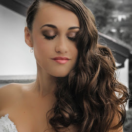 Bride by Zdravko Krsnik - Wedding Bride ( dress, makeup, wedding, beautiful, bride, hair )