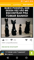 Screenshot of Zuapp - Zueiras para WhatsApp