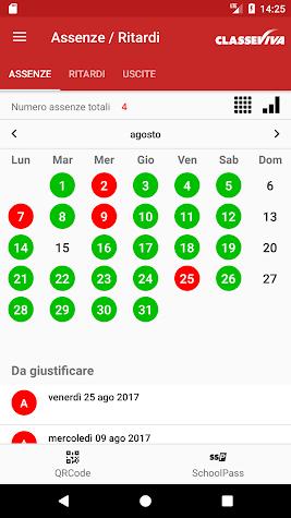 ClasseViva Studenti Screenshot