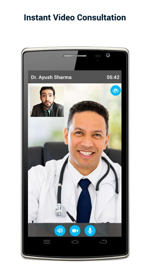 seeDoc - Video Consult Doctors Screenshot 1
