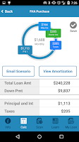 Screenshot of Mortgage App